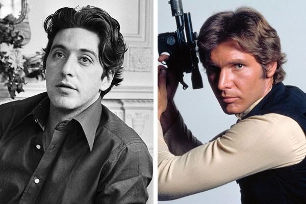 Al Pacino perdeu o papel de Han Solo para Harrison Ford (Foto: Getty Images / Reprodução)