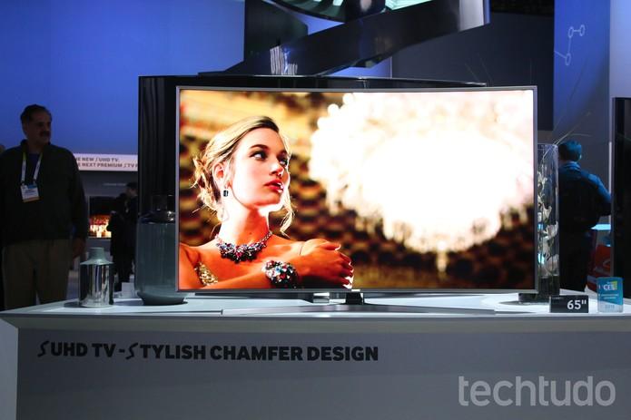 SUHD TV (Foto: Fabrício Vitorino/TechTudo)