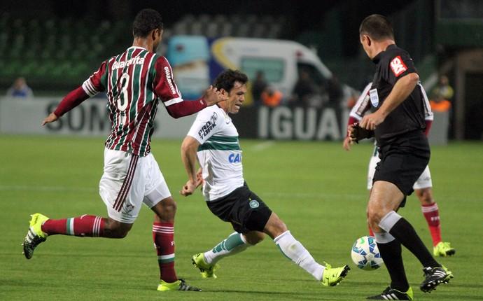 Coritiba Fluminense (Foto: Divulgação/ Coritiba)