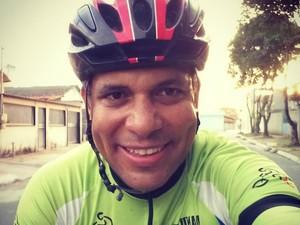 Danilo Simões foi atingido por uma caminhonete na Rodovia Audifax Barcelos (Foto: Arquivo Pessoal)