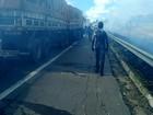 Homem morre em engavetamento causado por fumaça em GO, diz PRF