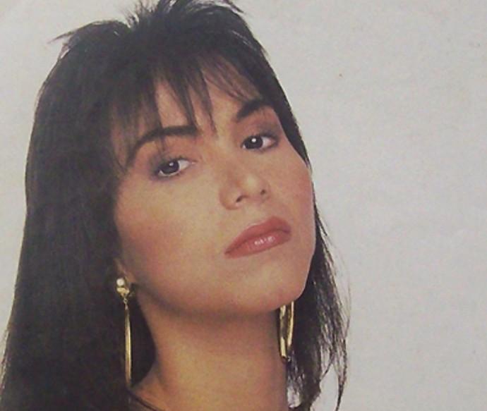 Rosanah, cantora, Como Uma Deusa (Foto: Reprodução)