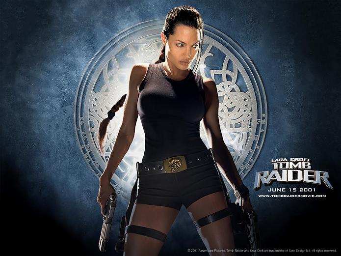 Angelina Jolie interpretou Lara nos cinemas (Foto: Divulgação)