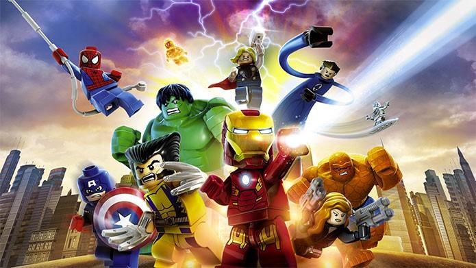 Lego Marvel Superheroes: de Homem-Aranha a Wolverine (Foto: Divulgação)