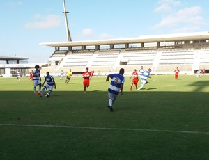 CSA CRB Sub-17 (Foto: Augusto Oliveira/GloboEsporte.com)