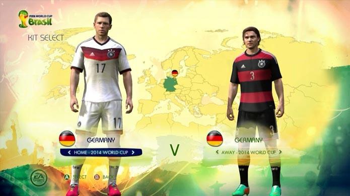 Copa do Mundo Fifa 2014  veja os uniformes das 32 seleções do ... e8af9f9b71ac6