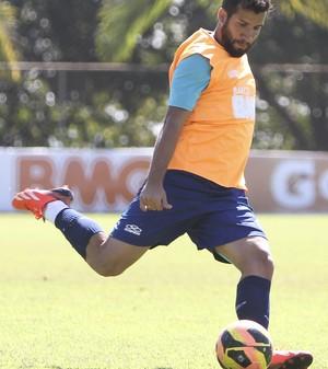 Victorino; Cruzeiro; Toca da Raposa II; treino (Foto: Washington Alves / Vipcomm)
