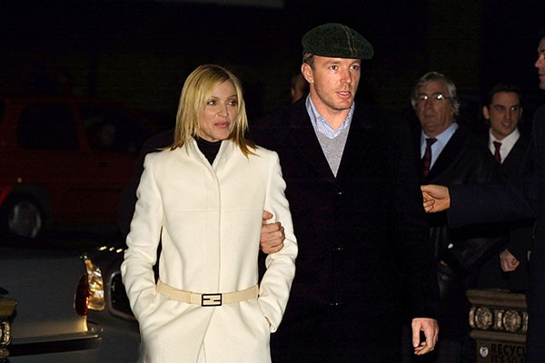 Madonna e Guy Ritchie (Foto: Getty Images)