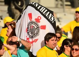 Torcidas times brasileiros, Taiti x Nigéria Mineirão - Corinthians (Foto: Marcos Ribolli)