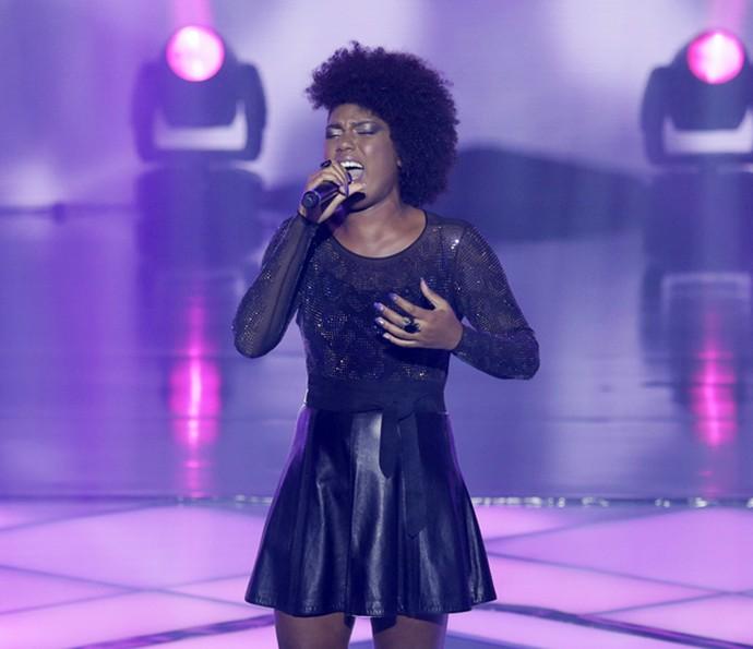 Mylena Jardim cantou 'Nada Mais' (Foto: Artur Meninea/Gshow)