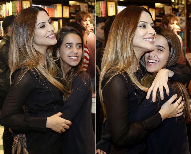 Cleo Pires e a irmã Ana Morais (Foto: Roberto Filho/AgNews)