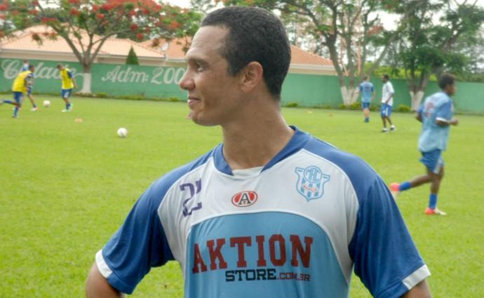 Wellington Amorim, atacante do Marília  (Foto: Divulgação / Marília AC)