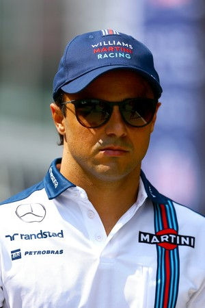 Felipe Massa, da Williams, no GP da Hungria (Foto: Getty Images)