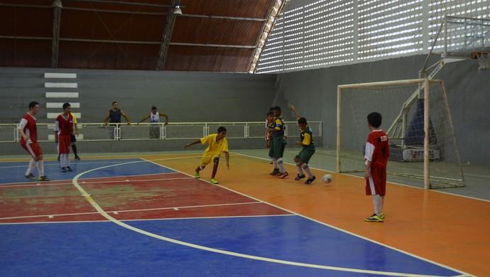 Escolares, futsal masculino Sesi vence Vanda Cabete e tem chances no AP (Foto: Jonhwene Silva GE-AP)