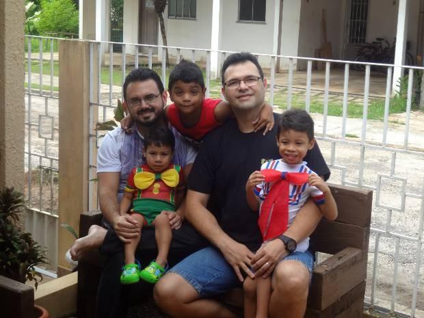 pais querem dar oportunidade para que filhos façam boas escolhas quando crescerem. Belém Dia dos Pais (Foto: Thais Rezende/ G1)