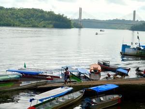 Polícia Civil do Amapá estima que cerca de 80 brasileiros deixam o país para Guiana Francesa (Foto: Abinoan Santiago/G1)