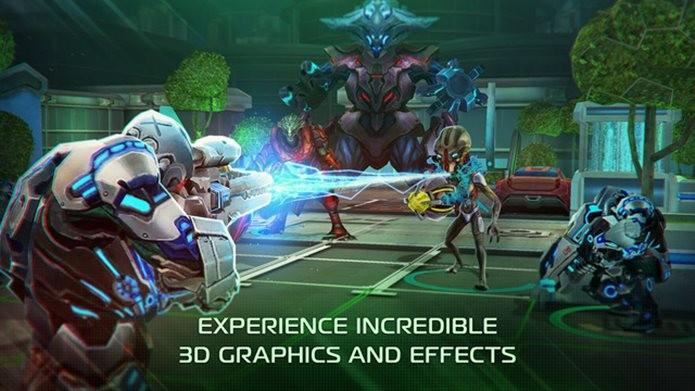 X-Mercs é um das surpresas de outubro na App Store. O game é excepcional (Foto: Divulgação / Game Insight)