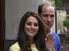 Kate Middleton deu à luz sem anestesia peridural, diz revista