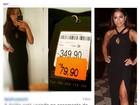 Look de Anitta no casório de Fê Souza, de rede popular, vira piada