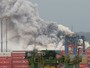 Simulado de combate à incêndio é realizado no Porto de Santos