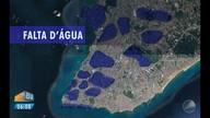 Prorrogado: fornecimento de água continua interrompido em mais de 40 bairros de Salvador