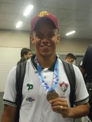 Marcos Junior Fluminense (Foto: Bruno Giufrida)