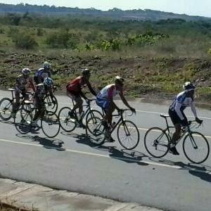 A categoria do Ciclismo de estrada que soma pontos para o ranking nacional (Foto: Divulgação/FCR)