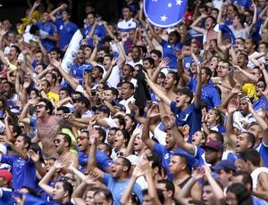 Torcida do Cruzeiro no Mineirão (Foto: Denilton Dias/ Vipcomm)