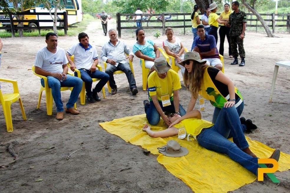 Projeto Rondon comemorará 50 anos com ações em Rondônia com oficinas (Foto: Projeto Rondon/Divulgação)