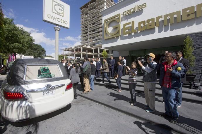 luta.livre funeral Pedro Aguayo Ramirez (Foto: AFP)