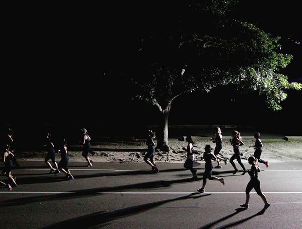corrida de rua noite (Foto: Getty Images)