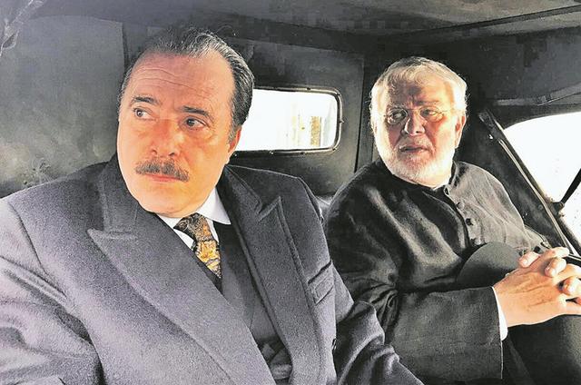 Tony Ramos com José Augusto Branco (Foto: Reprodução)