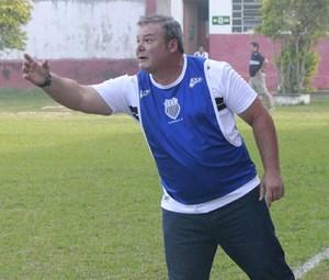 Luiz Henrique Arantes técnico do Figueirense-MG (Foto: Figueirense-MG/Divulgação)
