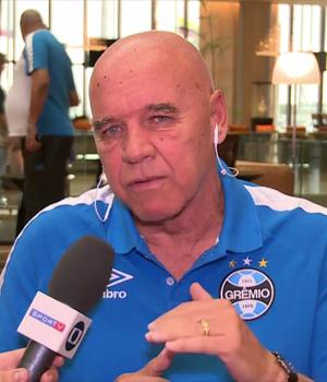 Valdir Espinosa, coordenador técnico do Grêmio (Foto: Reprodução SporTV)