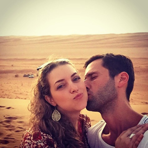 Tatiana Issa e Pedro Andrade (Foto: Arquivo pessoal)