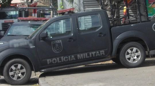 Viatura do Bope - Batalhão de Operações Especiais (Foto: Arion Marinho / Parceiro / Ag. O globo)