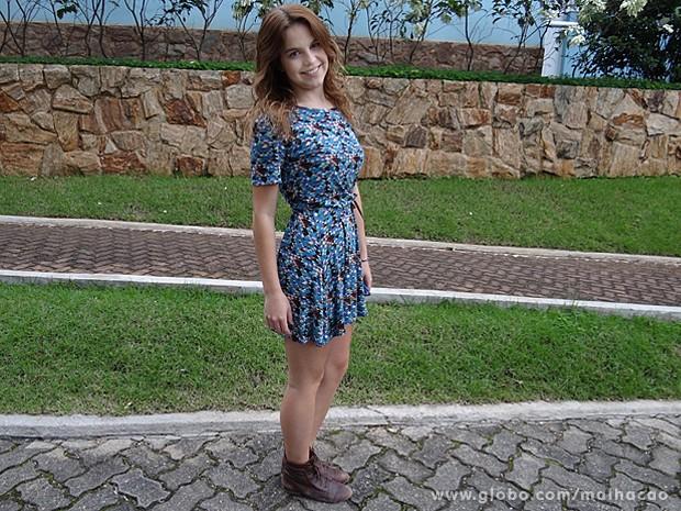 Bianca Salgueiro está arrasando na boa forma! (Foto: Malhação / TV Globo)