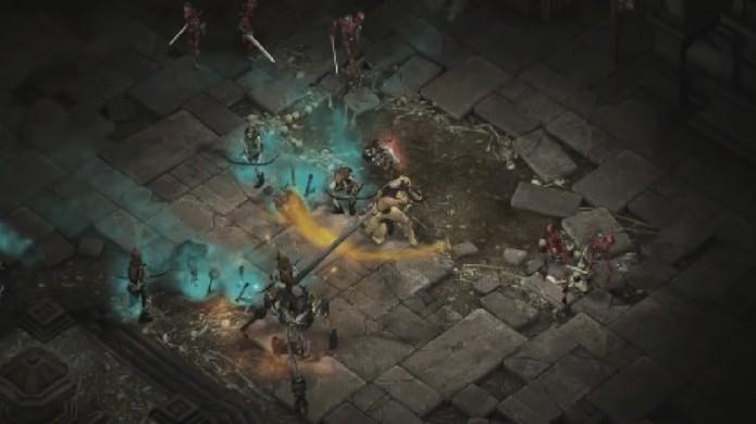 Diablo 3: Reaper of Souls receberá um dungeon especial remake de Diablo 1 para comemorar os 20 anos do game original (Foto: Reprodução/YouTube)