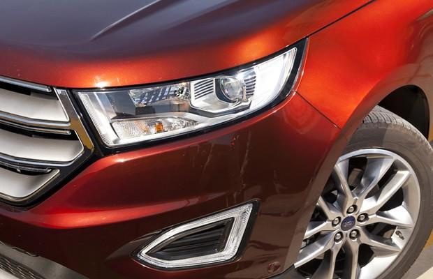 Ford Edge (Foto: Leo Sposito/Autoesporte)