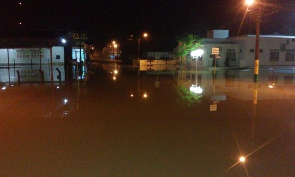 Lontras é uma das cidades afetadas pelas chuvas (Foto: Defesa Civil/Divulgação)