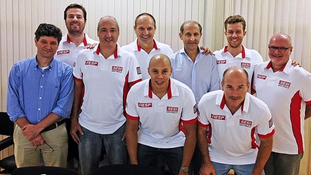 vôlei marcos pacheco sesi treinador comissão técnica (Foto: Divulgação)