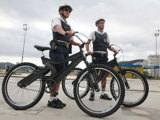 Bicicletas sustentáveis passam a circular a partir desta segunda-feira (25) (Foto: Divulgação/ Prefeitura de Santos)
