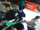 Vídeo mostra assalto em padaria de Marataízes, no Sul do ES