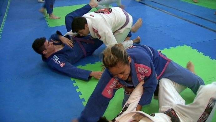 treino best fighter jiu-jítsu acre (Foto: Reprodução/TV Acre)