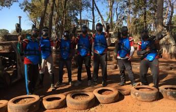 Paintball vira arma para estimular comunicação entre atletas do Bota-SP
