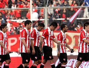 Independiente na derrota para o Almirante Brown (Foto: Reprodução / Facebook)