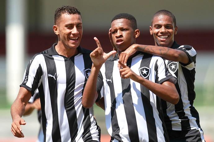 Buchecha, Fluminense X Botafogo, Final da Taça Rio Sub-20 (Foto: Vitor Silva / SSPress / Botafogo)