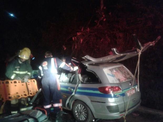 Quatro pessoas morrem em acidente na BR-262, no Espírito Santo (Foto: VC no ESTV)