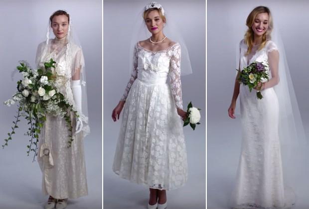e5ed3cfbb73 A evolução dos vestidos de noiva ao longo dos últimos 100 anos ...