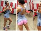 Mayra Cardi larga dieta crudívora após 90 dias: 'Perdi músculos'